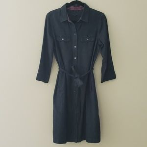 NWOT Talbot's Chambray/Denim Shirt Dress
